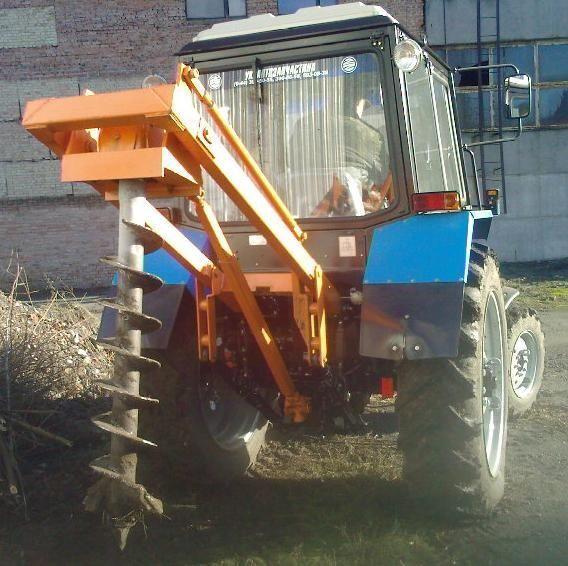 άλλο ειδικό όχημα Yamokopatel (yamobur) navesnoy marki BAM-1.5 na baze MTZ 80/82