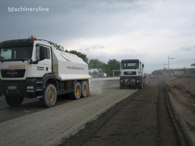καινούριο ανακυκλωτής MAN amag cement spreader MAN TGS 33.440 - 6x6