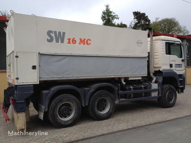 ανακυκλωτής WIRTGEN Spreader Streumaster SW 16 MC