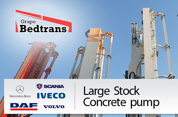 αντλία σκυροδέματος PUTZMEISTER THE BEST STOCK THE CONCRETE PUMPS IN SPAIN BEDTRANS