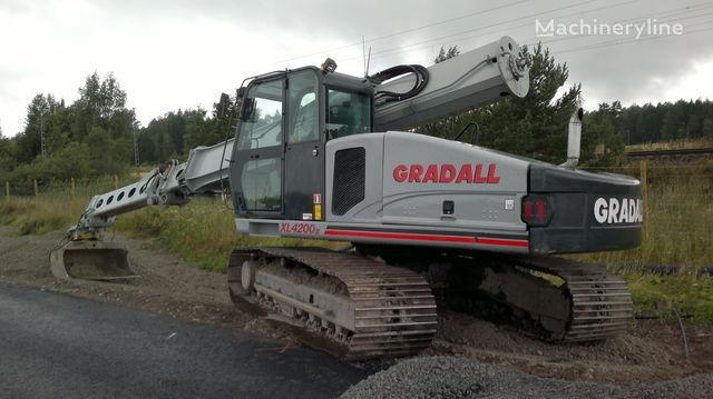 εκσκαφέας διαμόρφωσης GRADALL XL 4200II