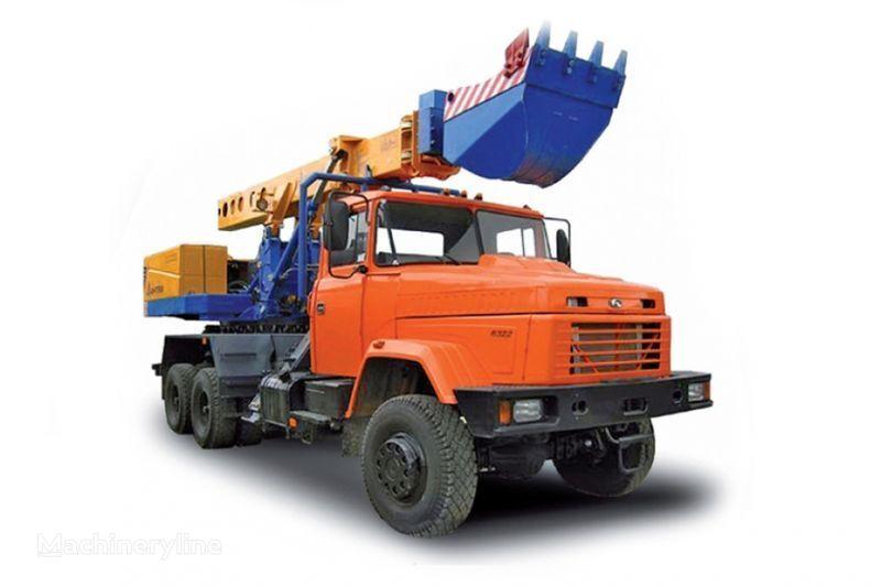 εκσκαφέας διαμόρφωσης KRAZ 6322 EW-25-M1 Ekskavator-planirovshchik