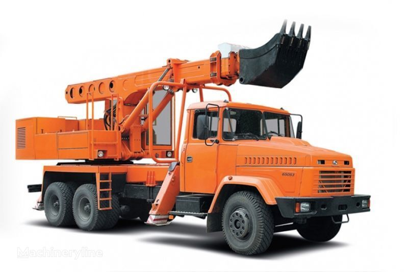 εκσκαφέας διαμόρφωσης KRAZ 65053 UDS-114R Avtoekskavator-planirovshchik
