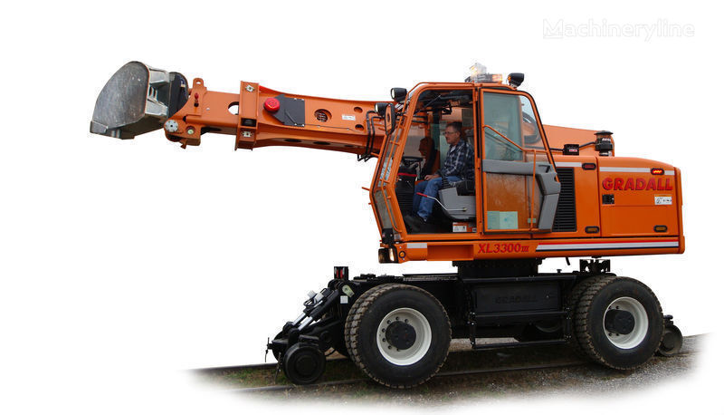 καινούριο εκσκαφέας επί γραμμών GRADALL XL 3300