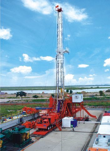 καινούριο γεωτρύπανο ZYT Petroleum ZJ40