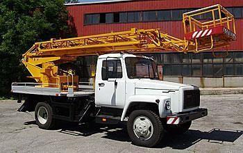 καινούριο καλαθοφόρο όχημα GAZ