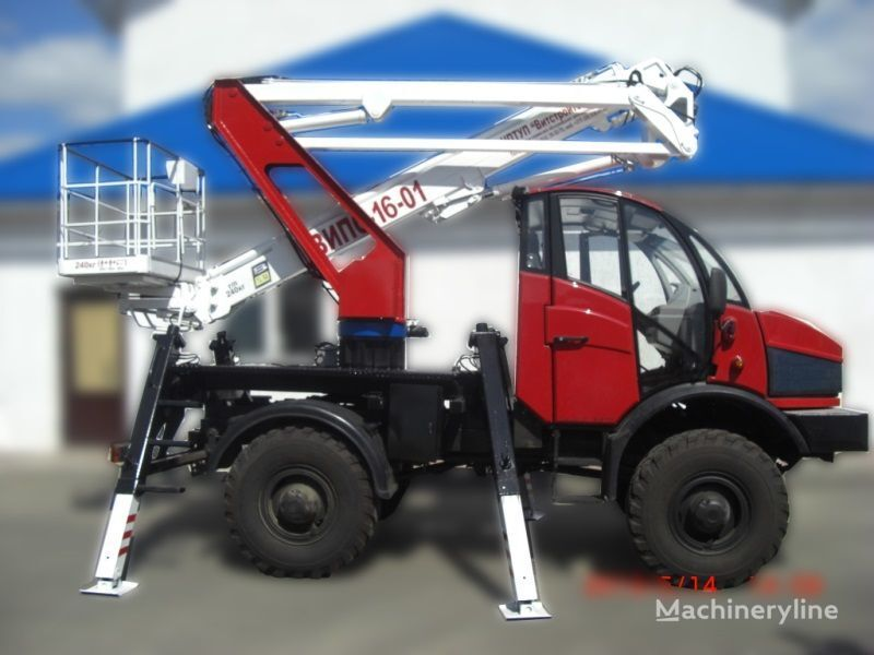καλαθοφόρο όχημα Lifting Machines AGP VIPO-16-01-02 Silant