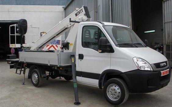 καινούριο καλαθοφόρο όχημα MOVEX