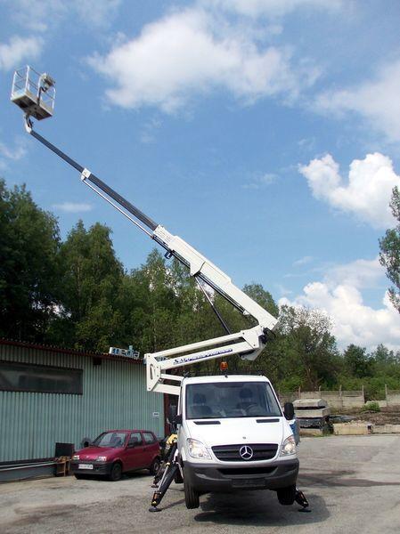 καινούριο καλαθοφόρο όχημα TECCHIO  SAFI  - SCA22