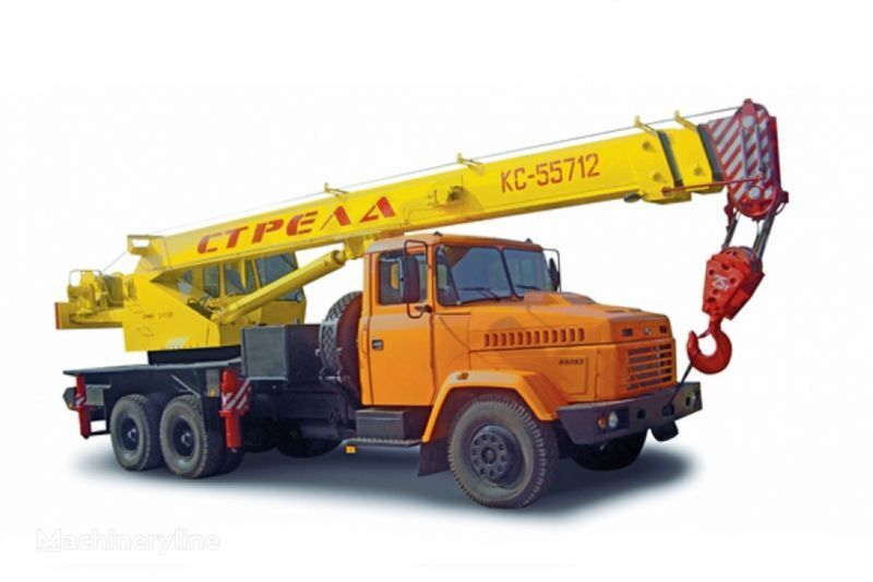 κινητός γερανός KRAZ 65053 (KTA-25) i KrAZ-63221 (KTA-25)