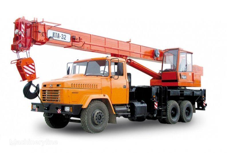 κινητός γερανός KRAZ 65053 (KTA-32)