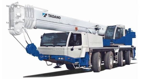 κινητός γερανός TADANO Faun ATF65G-4