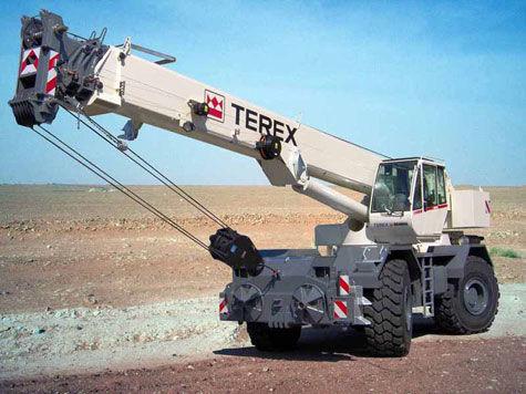 κινητός γερανός RT 45  στο πλαίσιο TEREX RT 45