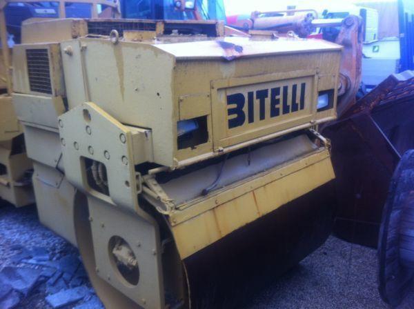 μίνι οδοστρωτήρας BITELLI 61