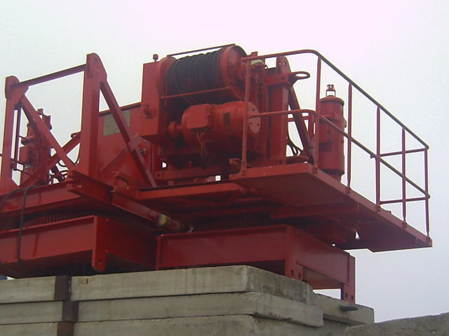 οικοδομικός γερανός (πυργογερανός) POTAIN pingon GP 4010 con base, opcion cabina