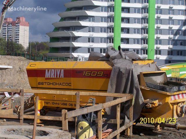 σταθερή αντλία σκυροδέματος MRIYA Stacionarnyy betononasos