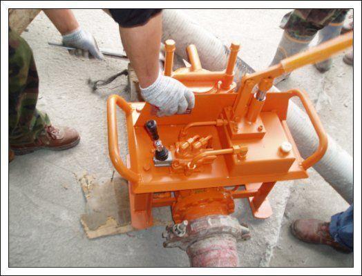 καινούρια σταθερή αντλία σκυροδέματος Gidravlicheskie zadvizhki betonovoda (Yuzhnaya Koreya)