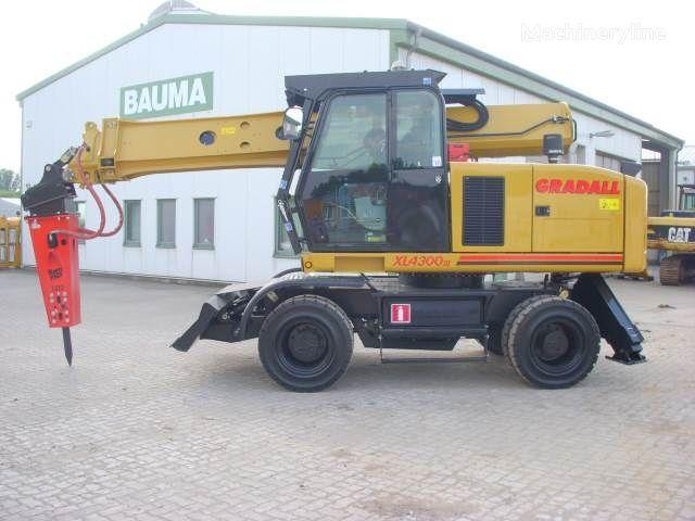 τροχοφόρος εκσκαφέας GRADALL XL 4300