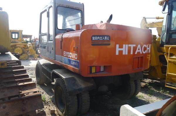 τροχοφόρος εκσκαφέας HITACHI EX100WD