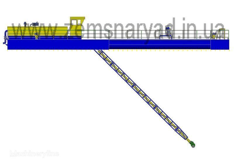 καινούριο βυθοκόρος NSS Zemsnaryad NSS 1600/25-F-K