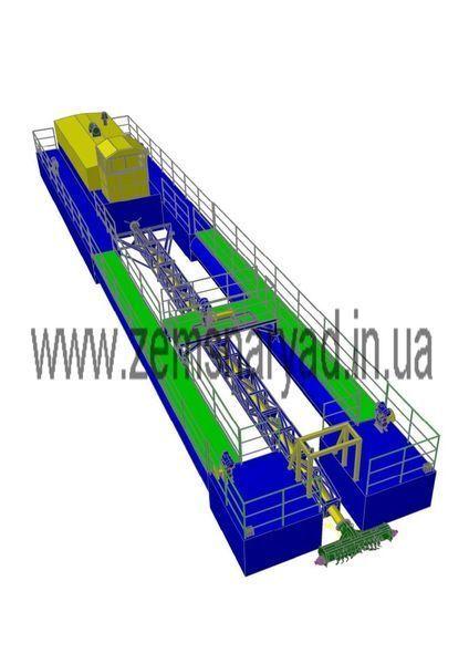 καινούριο βυθοκόρος NSS Zemsnaryad NSS 400/20-F-K