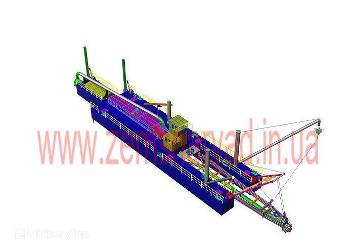 καινούριο βυθοκόρος NSS Zemsnaryad NSS 6000/70-F
