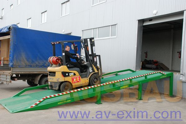 καινούρια κινητή ράμπα AUSBAU AUSBAU-ST Fixed ramp , Stacionarnaya rampa , Dock ramp , laadbrug