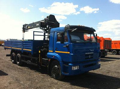 καινούριο γερανοφόρο φορτηγό HIAB 190 T