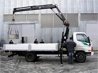 καινούριο γερανοφόρο φορτηγό HIAB XS 077