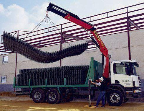 καινούριο γερανοφόρο φορτηγό PALFINGER PK 15500 Perfomance