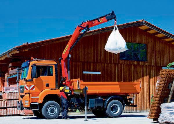 καινούριο γερανοφόρο φορτηγό PALFINGER PK 16001 Perfomance