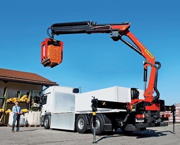 καινούριο γερανοφόρο φορτηγό PALFINGER PK 18002-EH High Perfomance