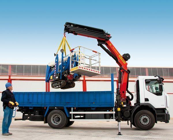 καινούριο γερανοφόρο φορτηγό PALFINGER PK 22002-EH High Perfomance