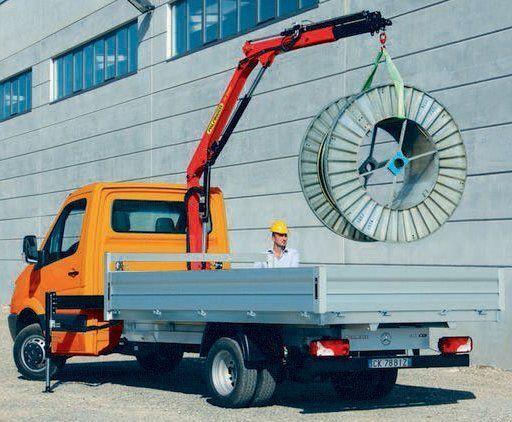 καινούριο γερανοφόρο φορτηγό PALFINGER PK 2900 Perfomance