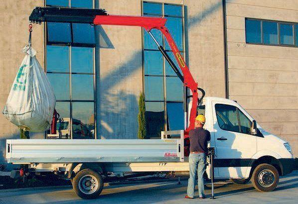 καινούριο γερανοφόρο φορτηγό PALFINGER PK 3400 Perfomance