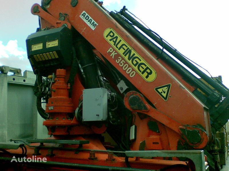 γερανοφόρο φορτηγό PALFINGER PK - 35000  ( Avstriya )