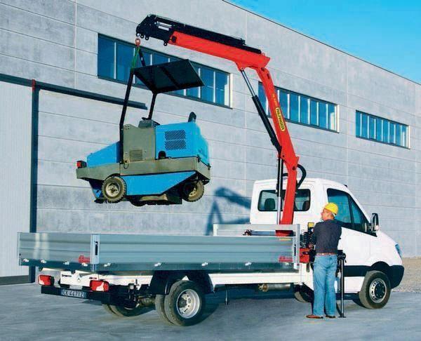 καινούριο γερανοφόρο φορτηγό PALFINGER PK 4200 Perfomance