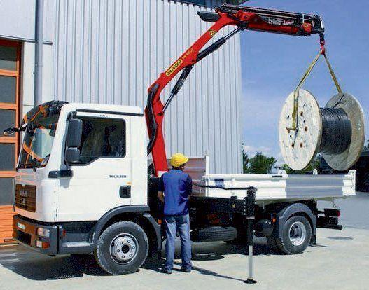 καινούριο γερανοφόρο φορτηγό PALFINGER PK 6501 High Performance