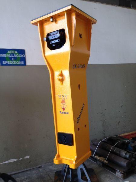 καινούριο υδραυλικό σφυρί ITALDEM GK 3400S