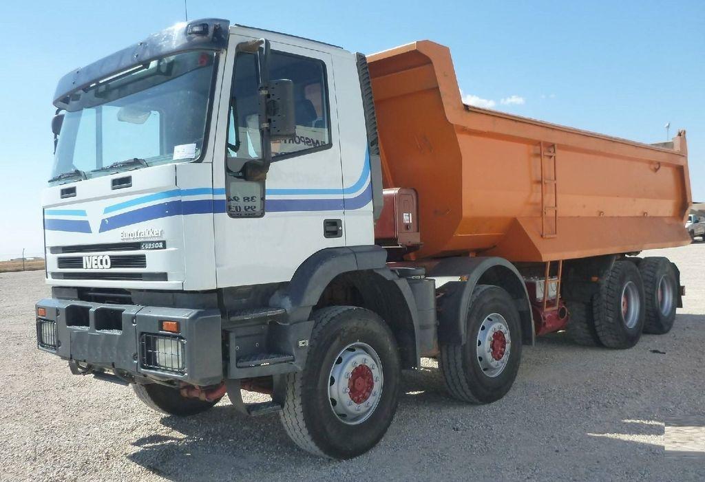 ανατρεπόμενο φορτηγό IVECO 41 E 440 trakker