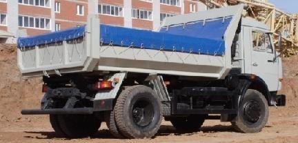 καινούριο ανατρεπόμενο φορτηγό KAMAZ 43255