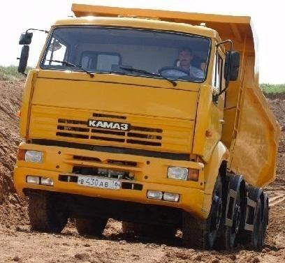 καινούριο ανατρεπόμενο φορτηγό KAMAZ 65201
