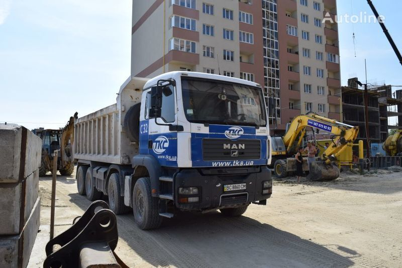 ανατρεπόμενο φορτηγό MAN TGA41.400BB-WW