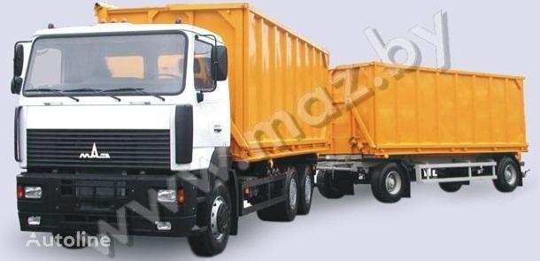 καινούριο ανατρεπόμενο φορτηγό MAZ 6501A5 avtopoezd