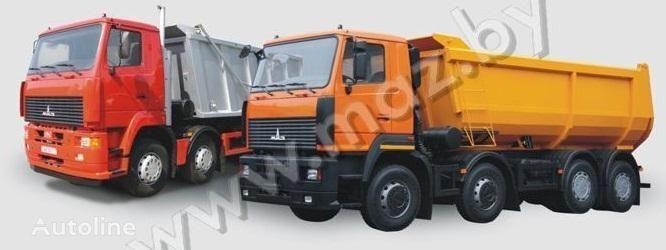 καινούριο ανατρεπόμενο φορτηγό MAZ 6516A8