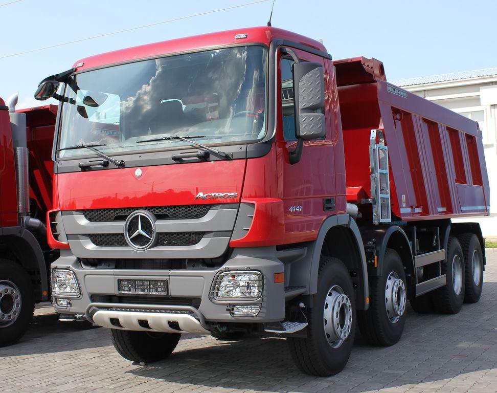 καινούριο ανατρεπόμενο φορτηγό MERCEDES-BENZ Actros 4141 K