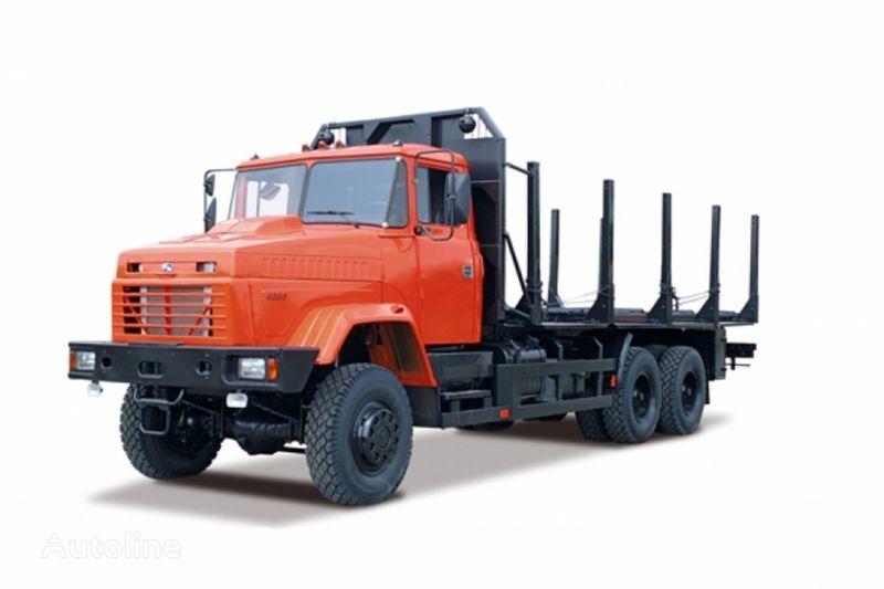 φορτηγό μεταφοράς ξυλείας KRAZ 6233M6