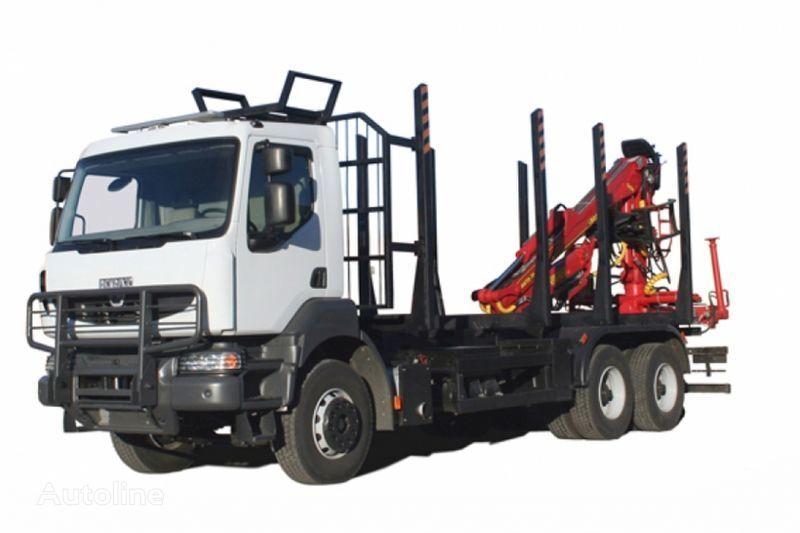 φορτηγό μεταφοράς ξυλείας KRAZ M19.2R