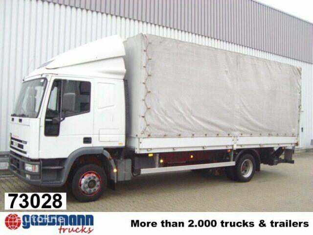 φορτηγό μουσαμάς IVECO EuroCargo / 120E24 / Standheizung/NSW