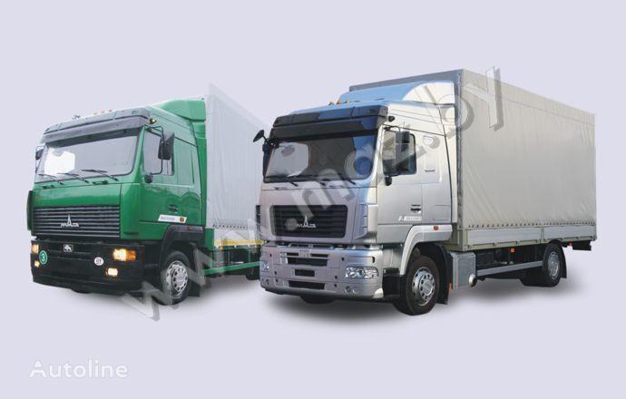 φορτηγό μουσαμάς MAZ 5340 (19, E9)